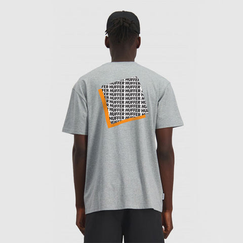 Huffer Sup Tee New Dimensions - Grey