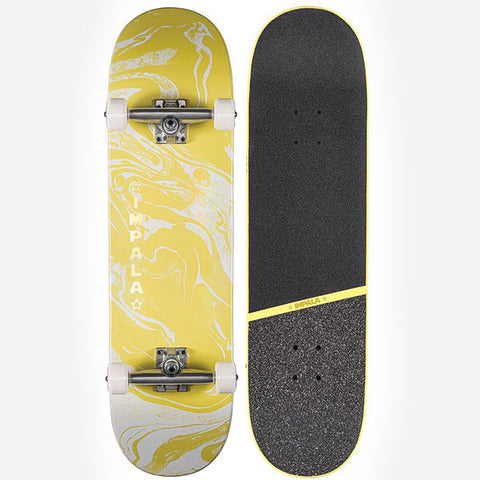 Impala Cosmos Yellow Skateboard - 8.5""