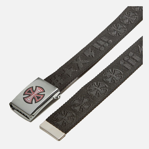 Independent Ante Web Skate Belt - Black