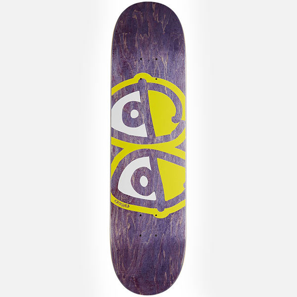 Krooked Deck Team Eyes Yellow - 8.06""