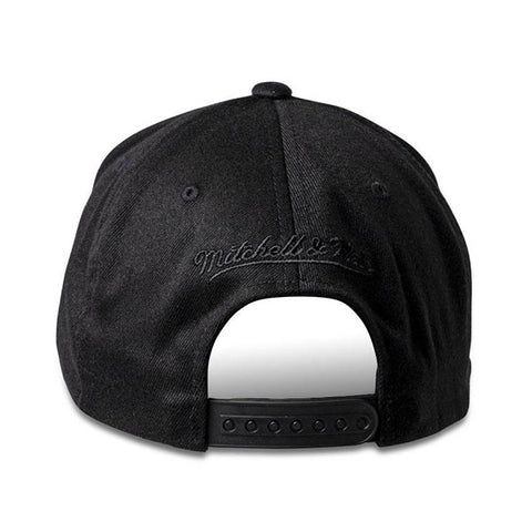 Mitchell & Ness Boston Celtics Snapback - All Black Logo