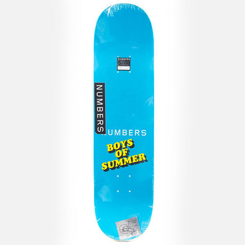 Numbers Deck Koston Boys Of Summer - 8.4