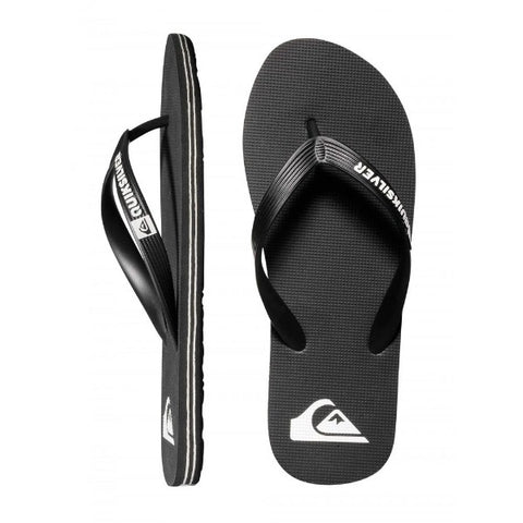 Quiksilver Molokai Thongs - Black/White