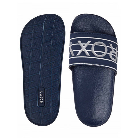 Roxy Girls Slippy Slides - Indigo