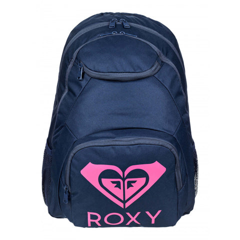 Roxy Backpack Shadow Swell Solid Logo - Mood Indigo
