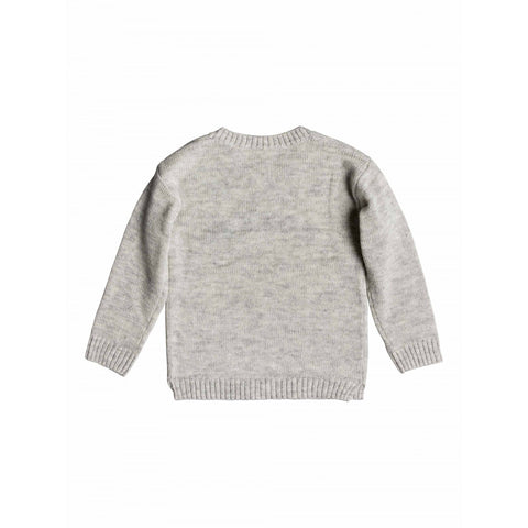 Roxy White Sweater - Heritage Heather