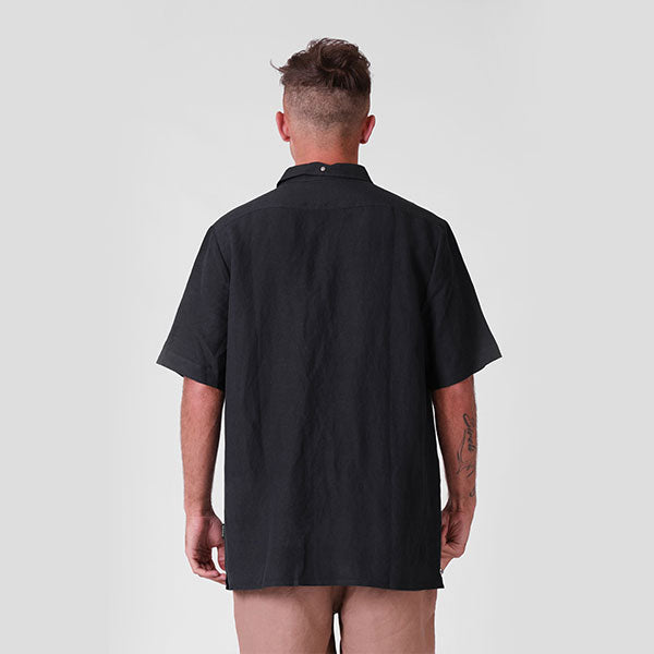 RPM Linen SS Shirt - Ink