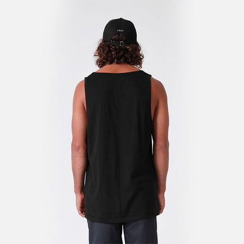 RPM Seam Singlet - Black