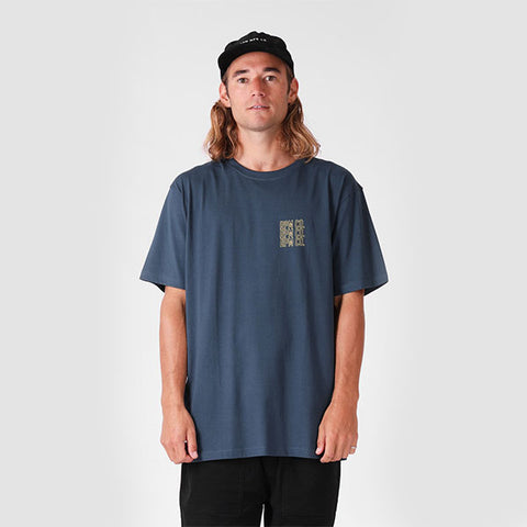RPM Stacker Tee - Cobalt