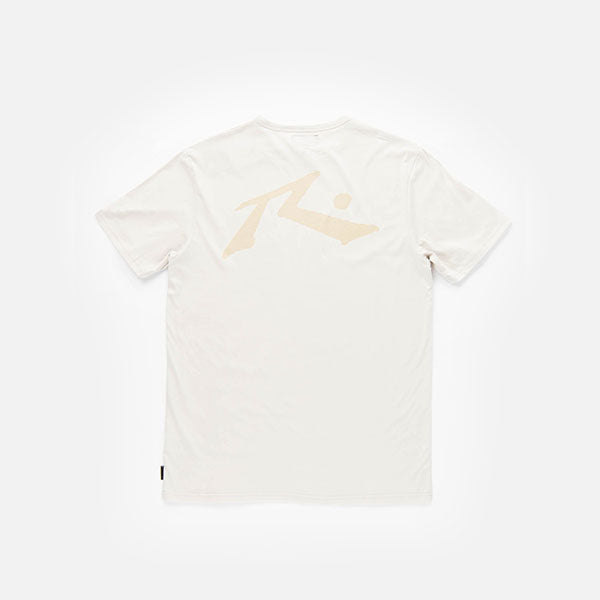 Rusty Competition Short Sleeve Tee - Beige Fog