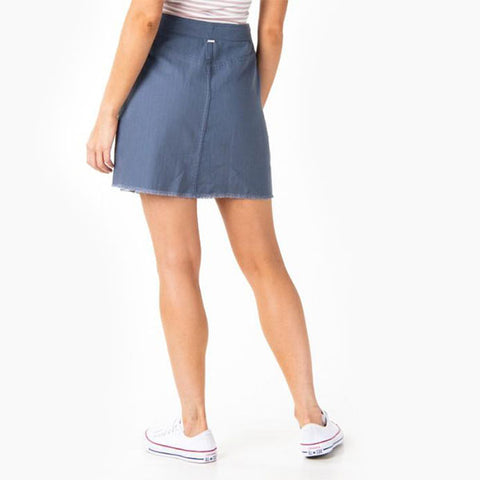 Rusty Somersault Skirt - Crown Blue
