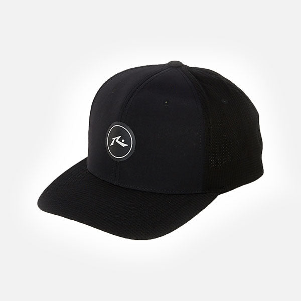 Rusty Zero Gravity Flexfit 110 Snapback Cap - Black