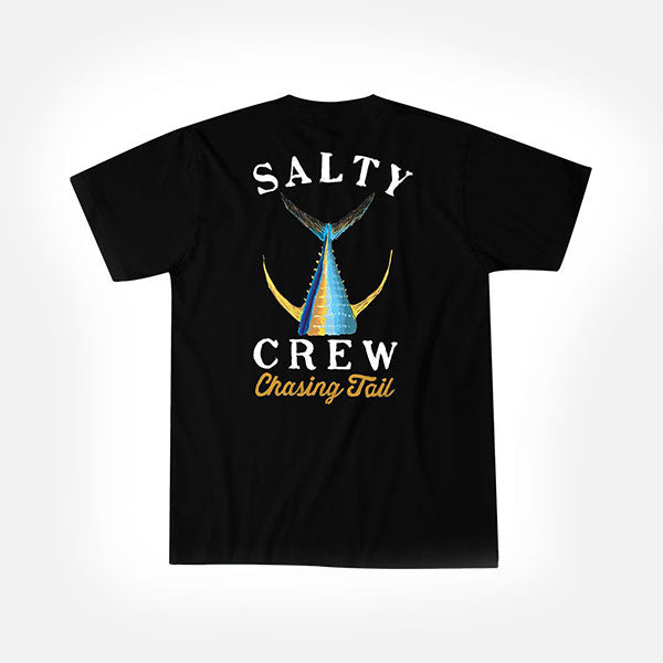 Salty Crew Tailed Tee - Black