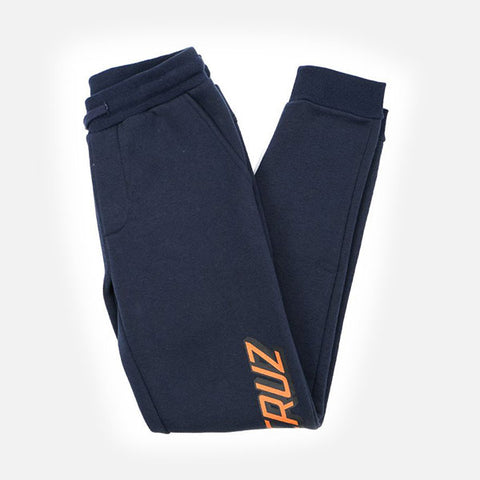 Santa Cruz Classic Strip Youth Fleece Pant - Navy