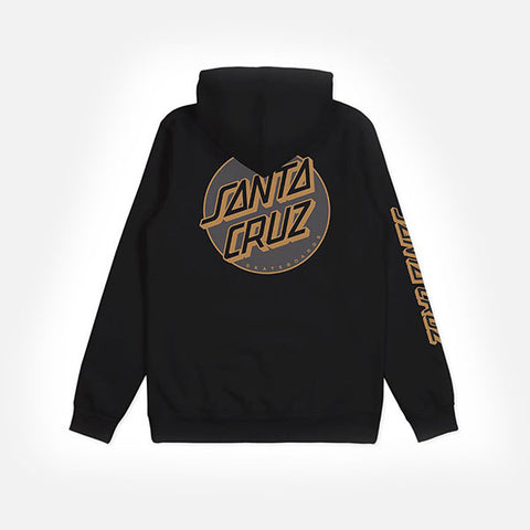 Santa Cruz Missing Dot Pop Hood - Black