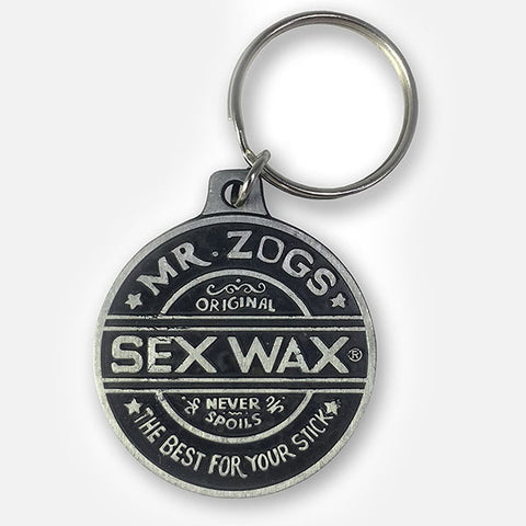 Sex Wax Pewter Keyring