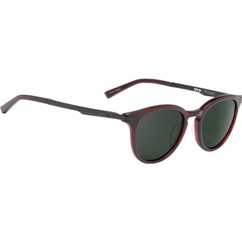 Spy Sunglasses Pismo - Translucent Garnet/Happy Grey Green