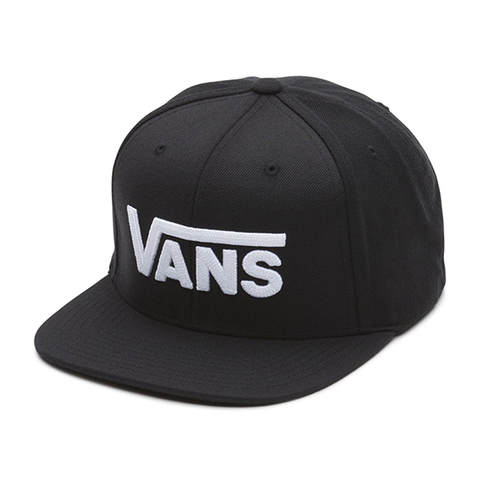 Vans Drop V II Snapback Cap - Black/White
