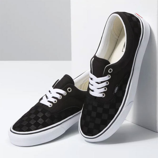 Vans Era Deboss Checkerboard - Black/True White