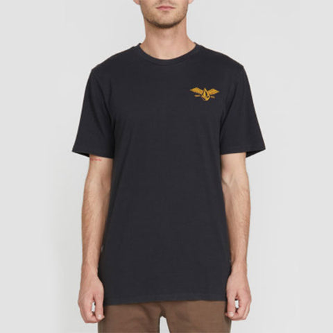 Volcom Flying Stone Tee - Black