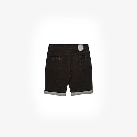Ilabb Capsize Denim Shorts - Raw Black
