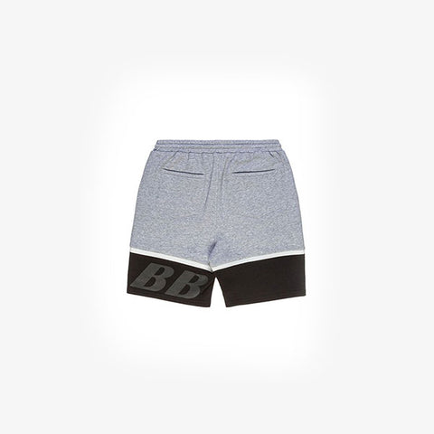 Ilabb Solid Shorts - Grey/Black