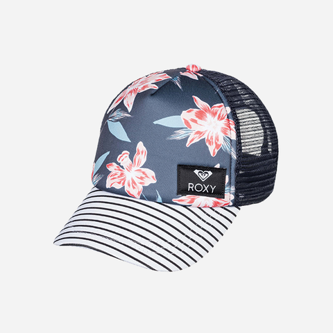 Roxy Return To Girls Cap -  Mood Indigo Tandem
