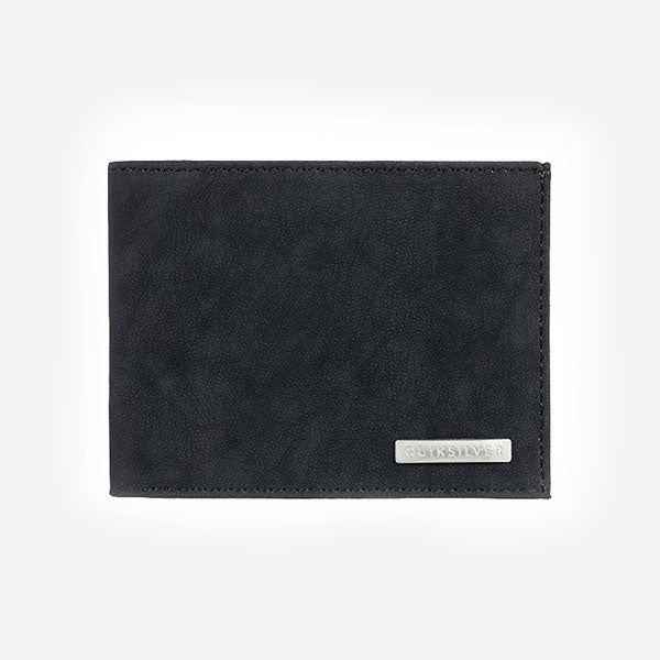 Quiksilver Gutherie IV Leather  Wallet - Black