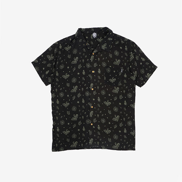 Santa Cruz Flash Icon SS Shirt - Black
