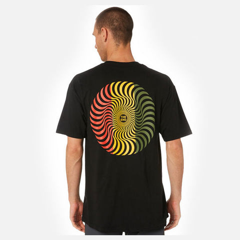 Spitfire CLSC The End Swirl Tee - Rasta