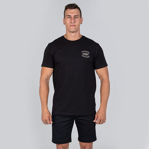 Unit Forge Tee - Black