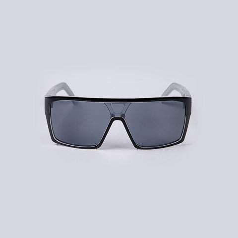 Unit Command Sunglasses Polarised - Black Silver