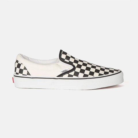 Vans Classic Slip On - Black/ White Checkerboard