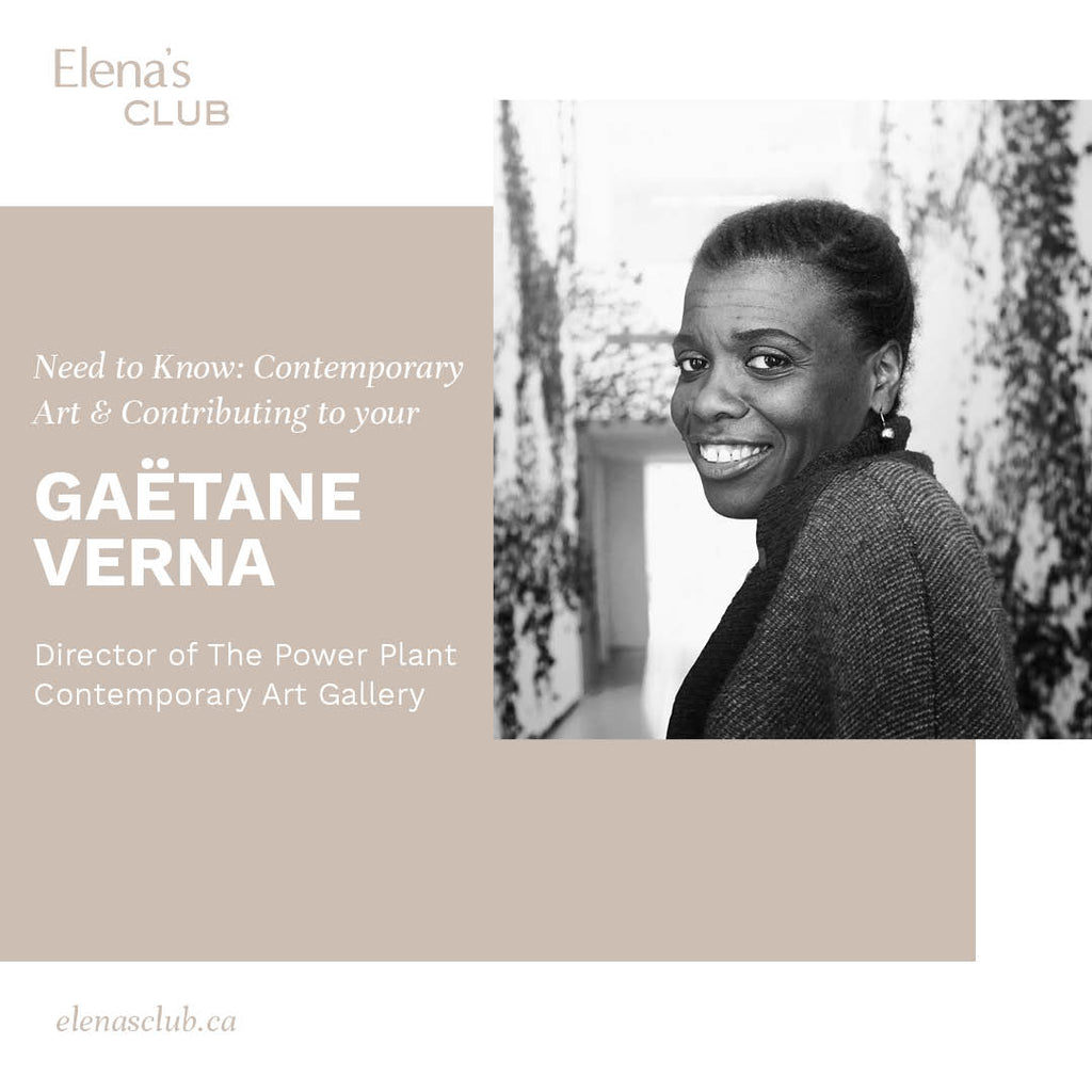 Gaëtane Verna - Director of The Power Plant Contemporary Art Gallery