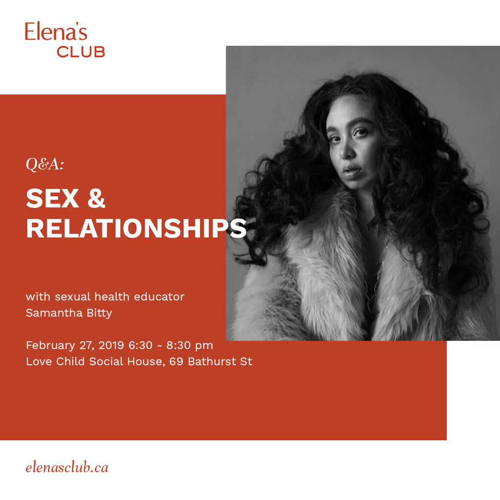 Q&A: Sex & Relationships