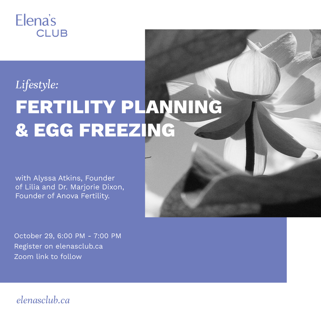 EC Lifestyle: Fertility Planning & Egg Freezing