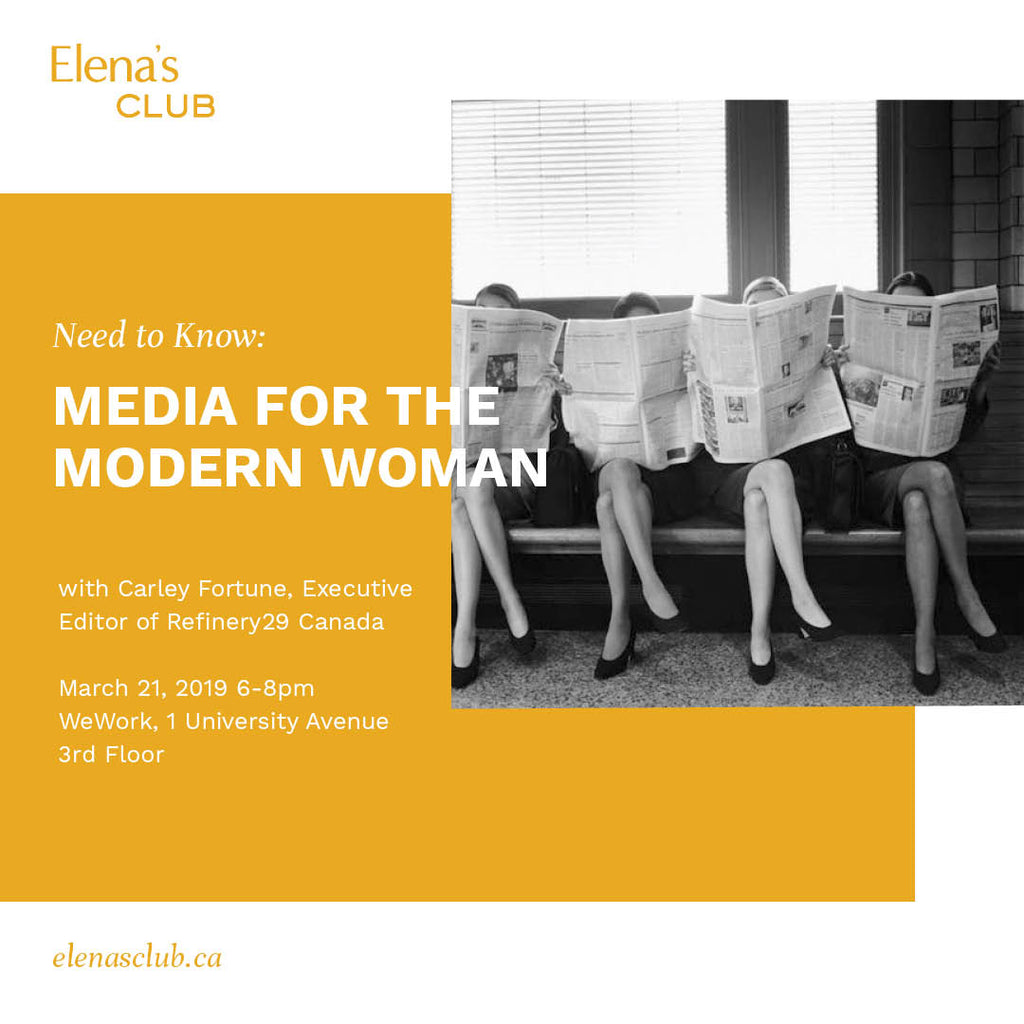 Need to Know: Media for the Modern Woman