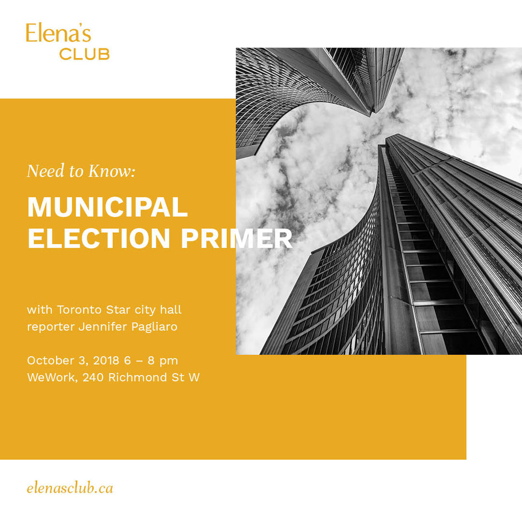 Need to Know: Municipal Election Primer