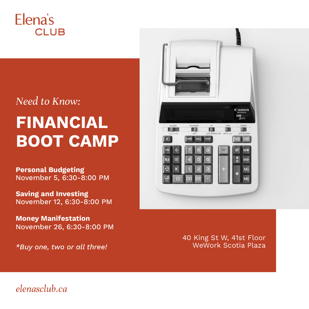 Need to Know: Financial Boot Camp