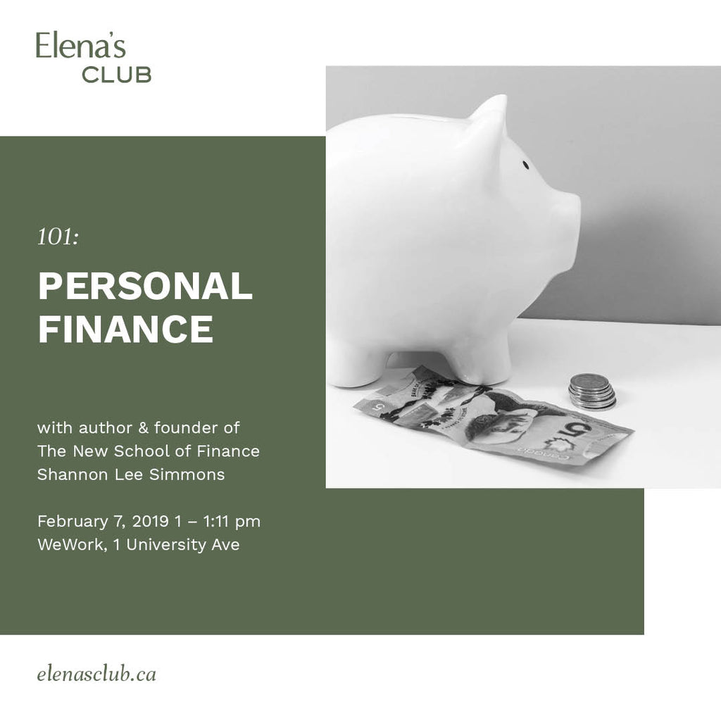101: Personal Finance