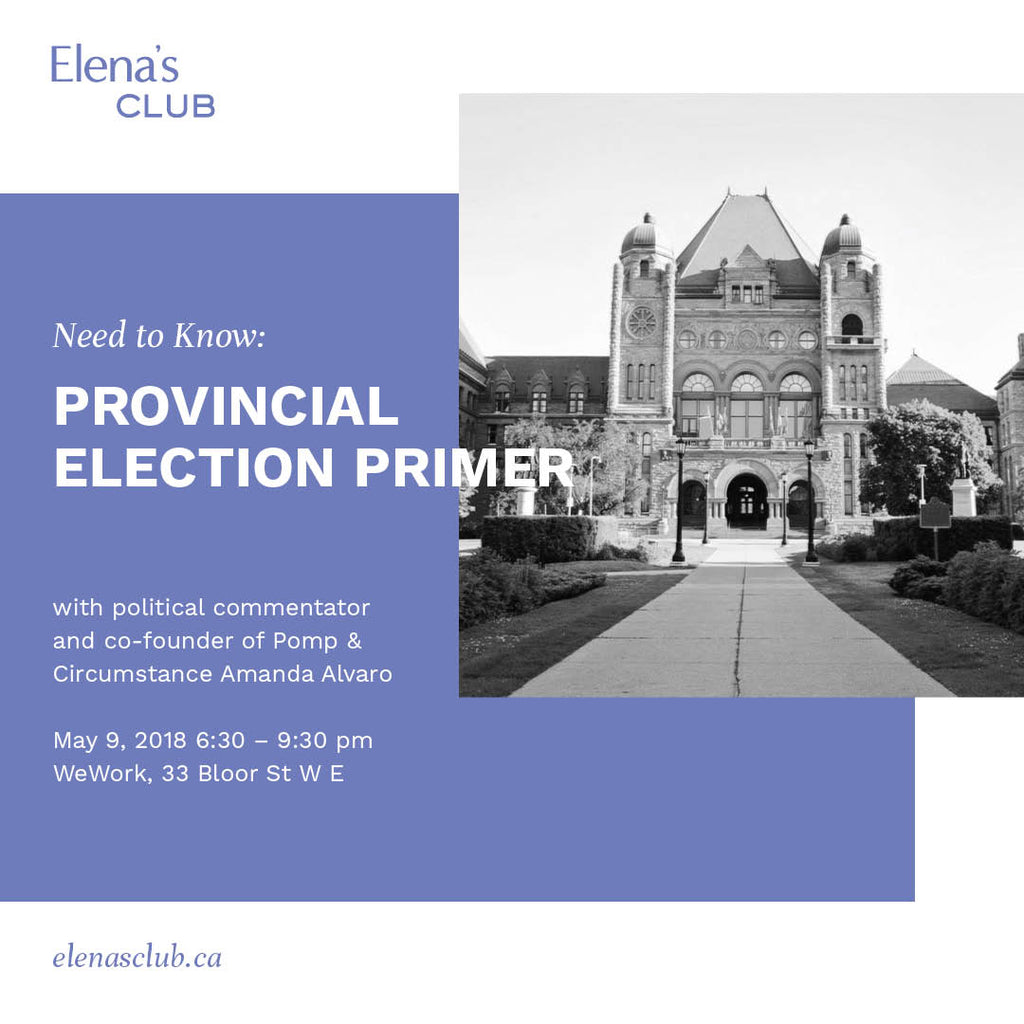 Need to Know: Provincial Election Primer