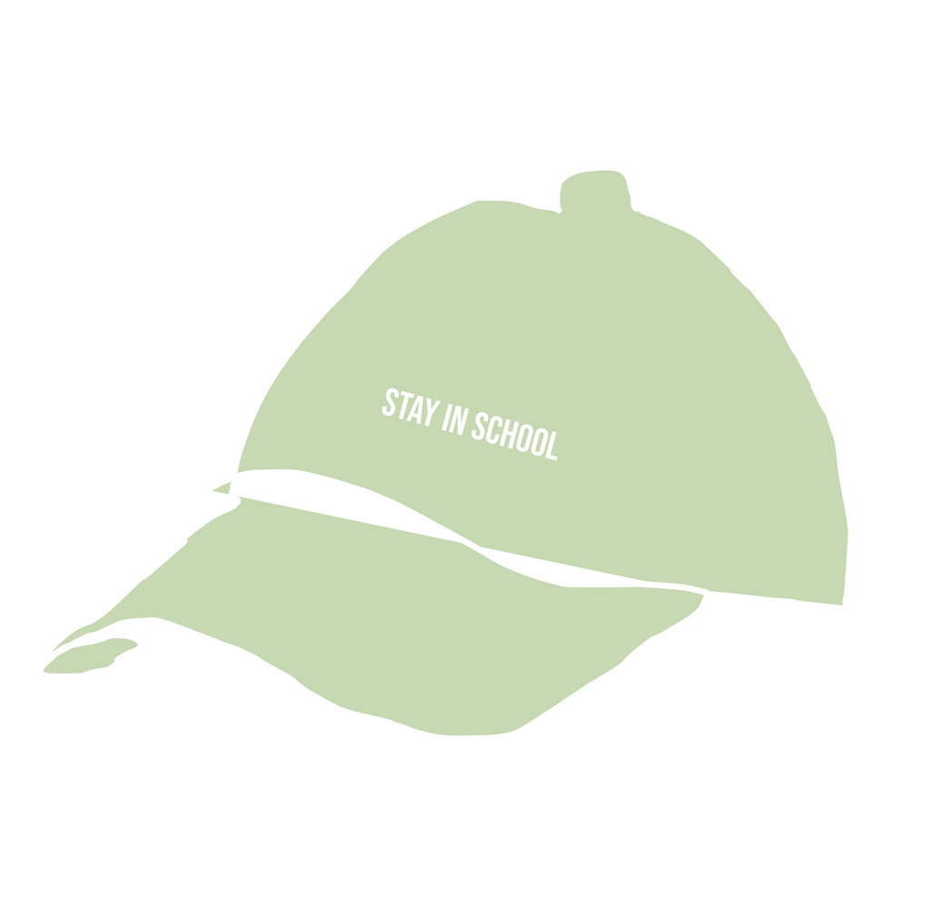 Lime Stay in School Hat