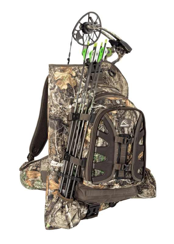 INSIGHTS Hunting The Vision Compound Bow Carrier Pack in Realtree Edge