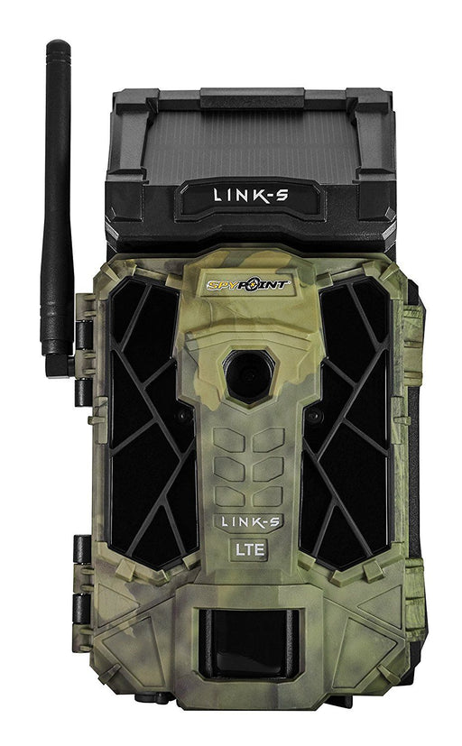Spypoint LINK-S AT&T Solar Cellular Trail Camera, Camo