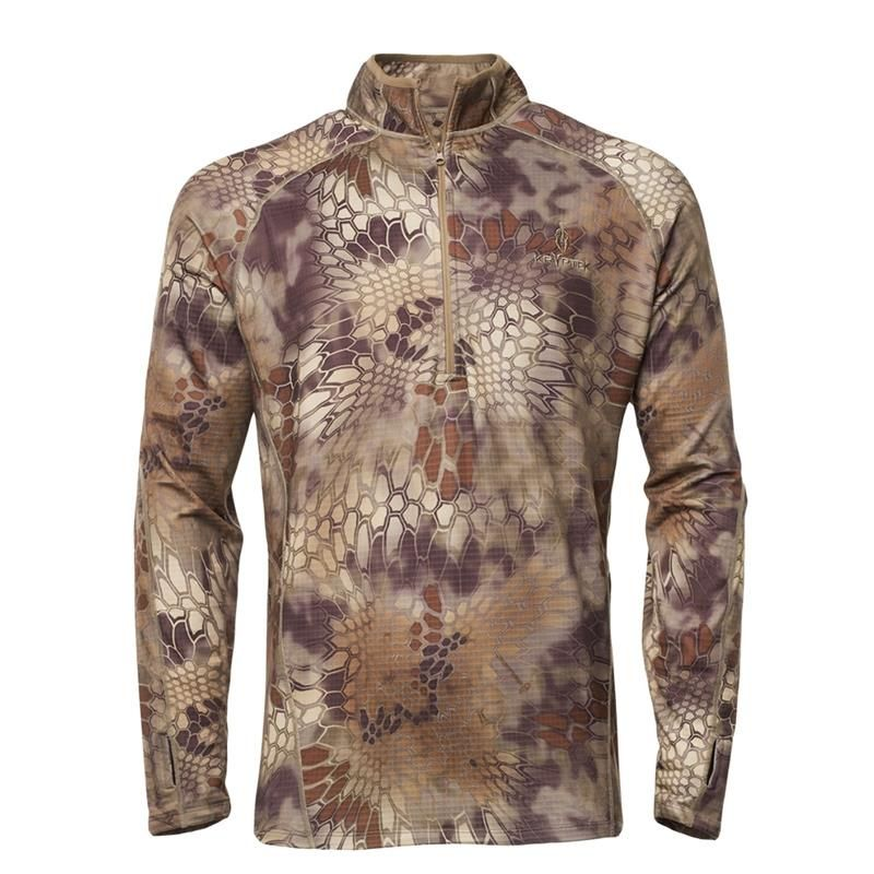 Kryptek CRONOS 1/2 ZIP Top- HIGHLANDER
