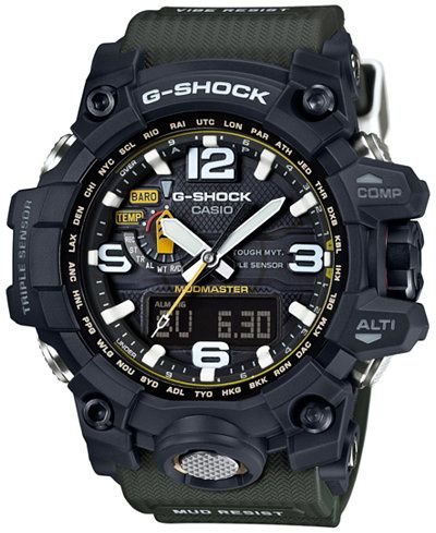 Casio Men's G-Shock Mudmaster Black Resin Sport Watch
