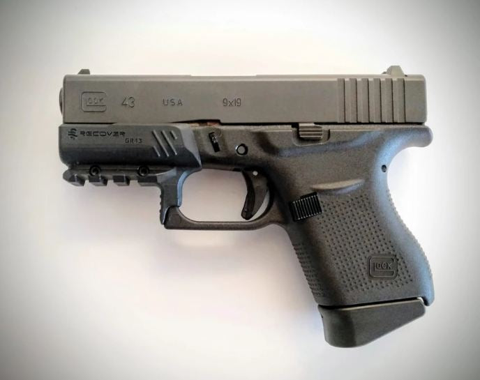 Recover Tactical Glock 43 Compact Picatinny Rail - Middletown Outdoors
