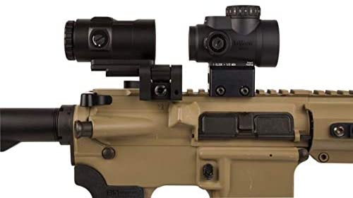 1x25 MRO® HD Combo Set; 68 MOA Reticle w/ 2.0 MOA Dot; Full Co-Witness AC32068 and 3X Magnifier w/ Adjustable Height Quick Release, Flip to Side Mount