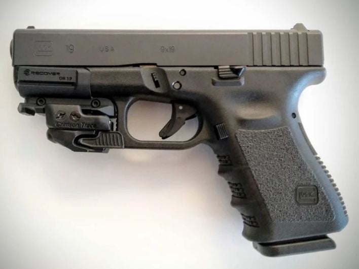 Recover Tactical Glock 19/17 Gen 3-5 Picatinny Over Rail
