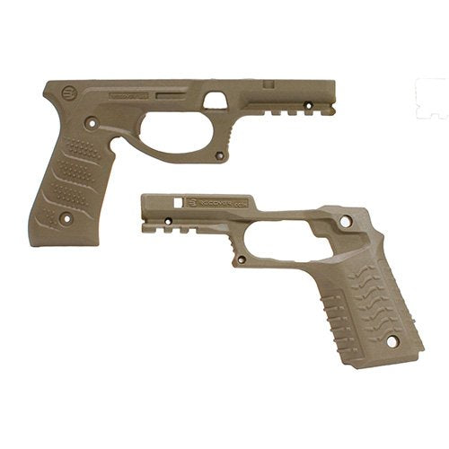 RECOVER Tactical BC2 BERETTA 92 GRIP AND RAIL SYSTEM- TAN
